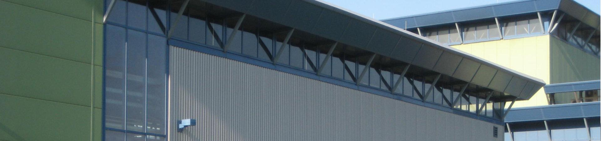Ingenieurbüro Hammes - Viersen / Mönchengladbach - Neubau Hallen Stahl